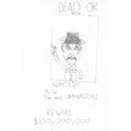 Teodor's Wanted Poster from Holes cover