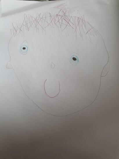 Callum's Self Portrait