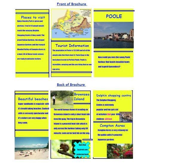 Brochure plan by Santino