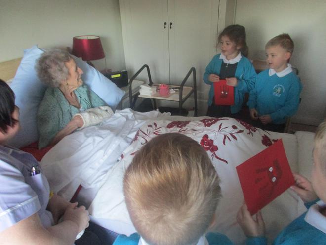 We met Alice who was 105! WOW!
