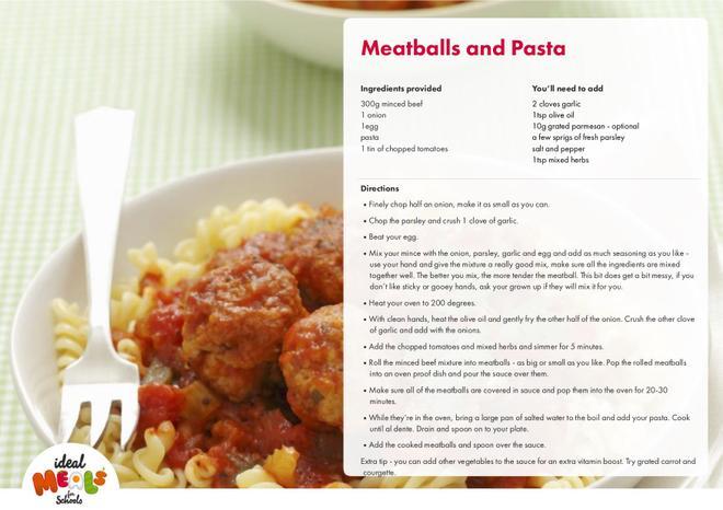 Meatballs & Pasta
