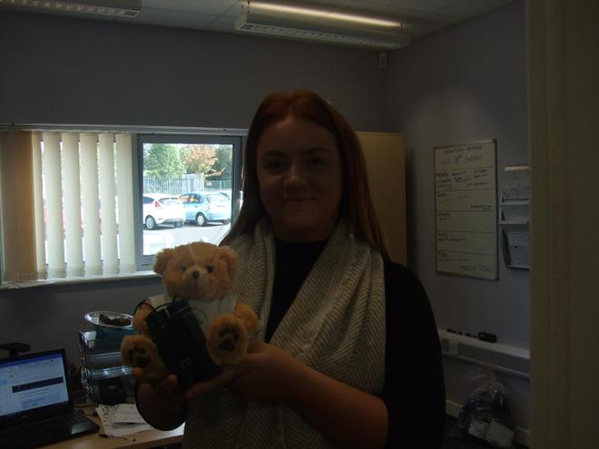 Teddy met Miss Wilson!