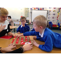 On Tuesday 17th March we had 30 teaching students from York St. John's University come into to work with Wrens, Robins and Woodpeckers classes. They observed phonics teaching in classes and then worked with the children playing exciting phonics games they had brought with them. We all had a brilliant time, the students learned about how phonics is really taught in a classroom and the children all had fun showing off how clever they are and learning and practising phonics and reading skills.