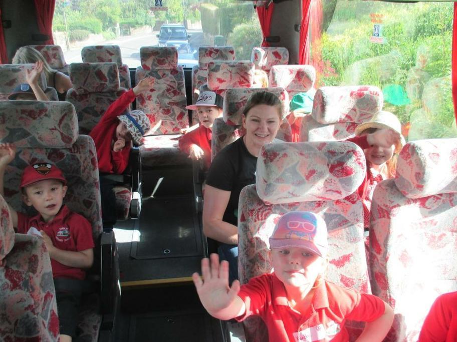 Loving the bus journey!