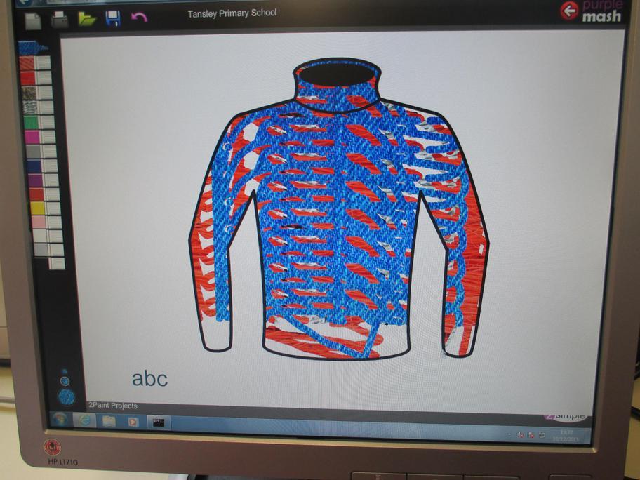 Designing a winter jumper