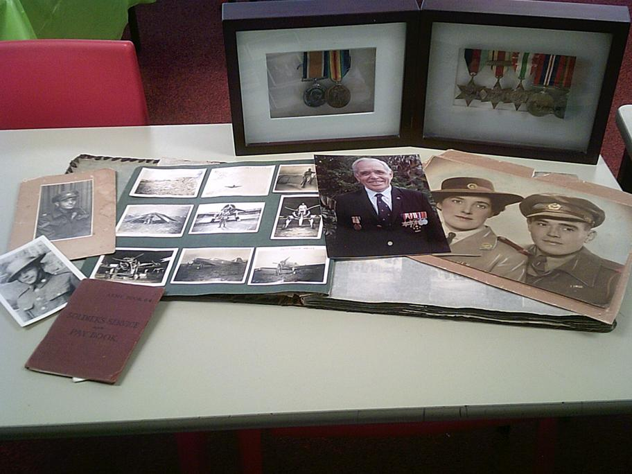 World War II Memories and Medals