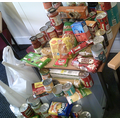 Our Collection to donate to the FoodBank
