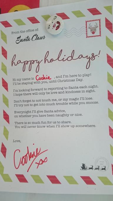 It's from Santa!