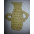 Ben's 2D imprinted vase.