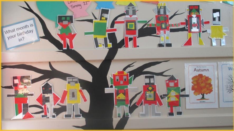 Our marvellous machine robots!