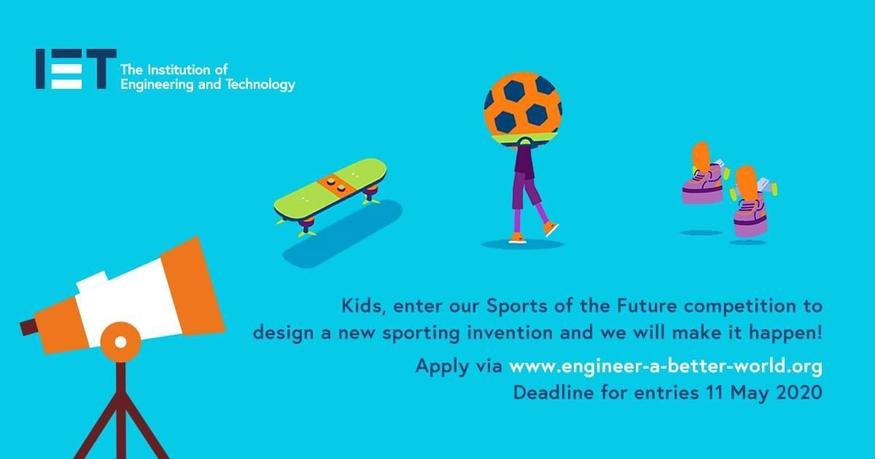 Design a sporting invention, link below!