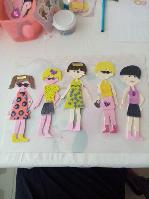 Making fashion dolls