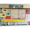 Our English working wall.