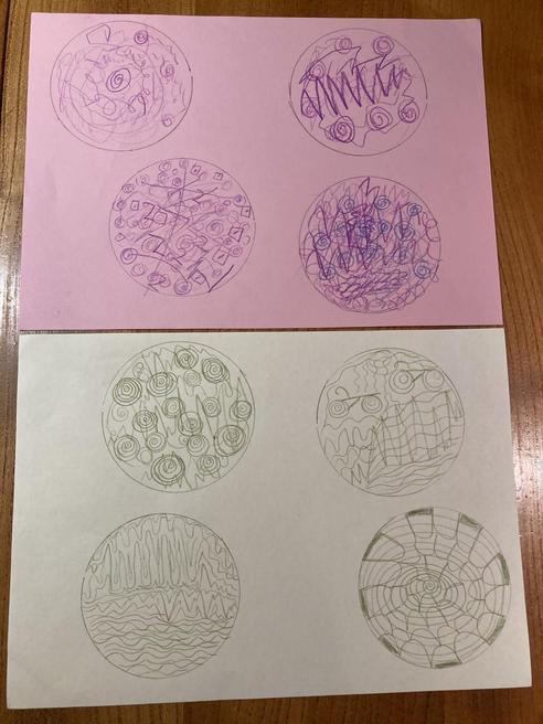 Mindfulness doodling!