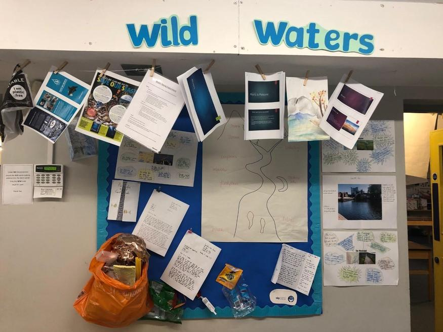 Year 6 studied the world's rivers.