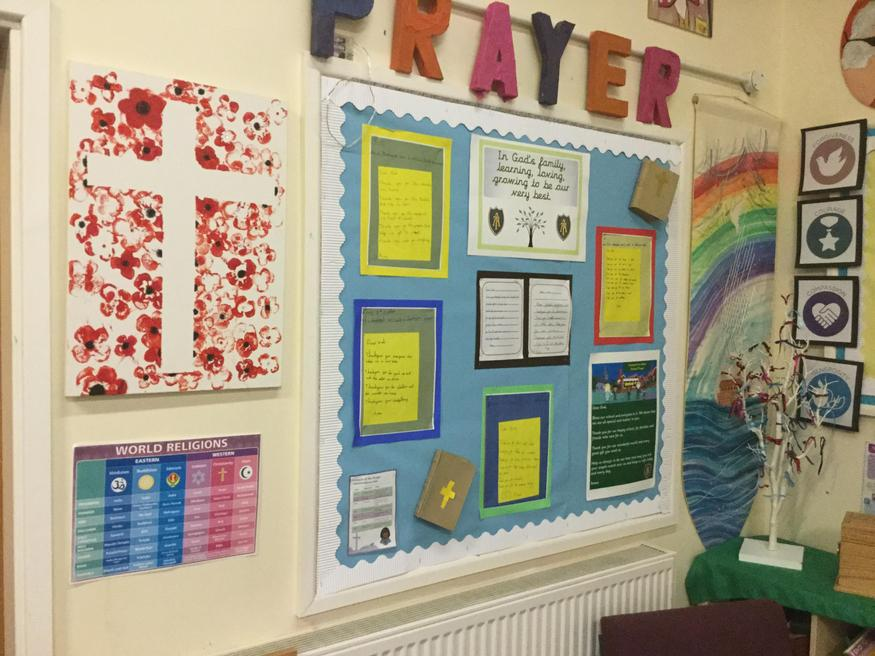 Our Prayer & Reflection Area