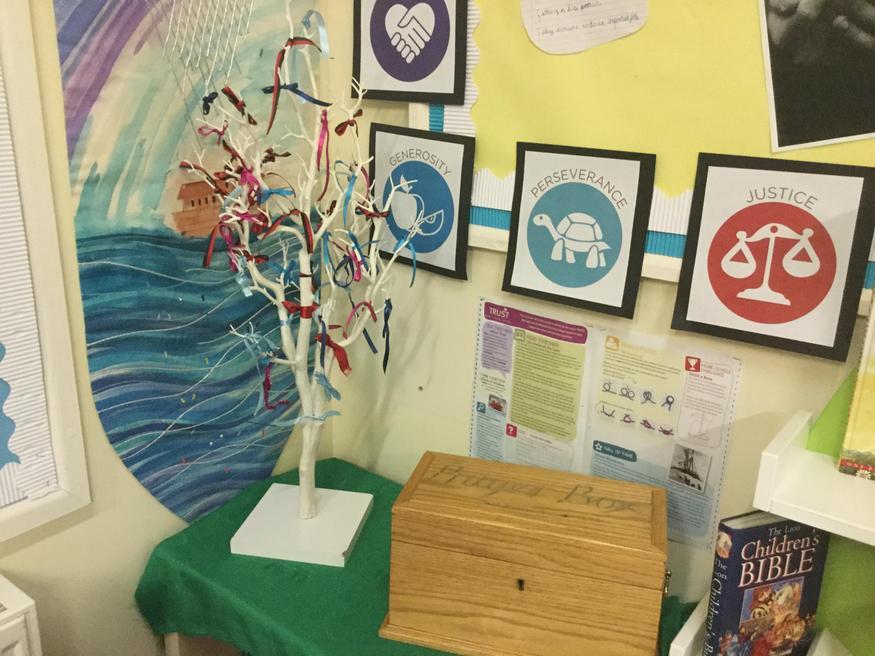 Our Prayer Tree and Prayer Box