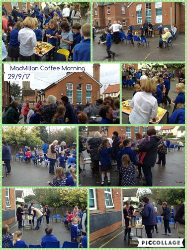 MacMillan Coffee Morning 29/9/17