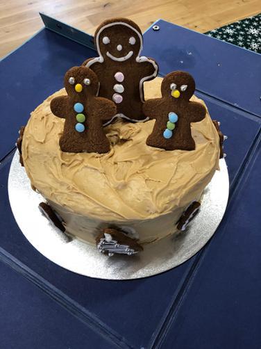 Emily Amitage's winning Cake