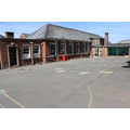 The KS1 Playground and Sycamore Class