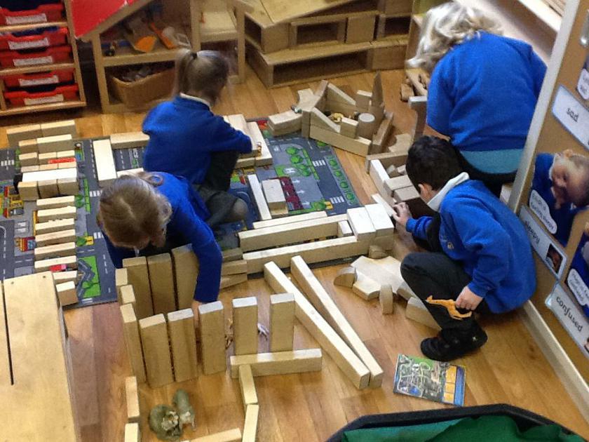 Constructing a Wildlife Park.