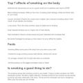 Joe's smoking facts 2