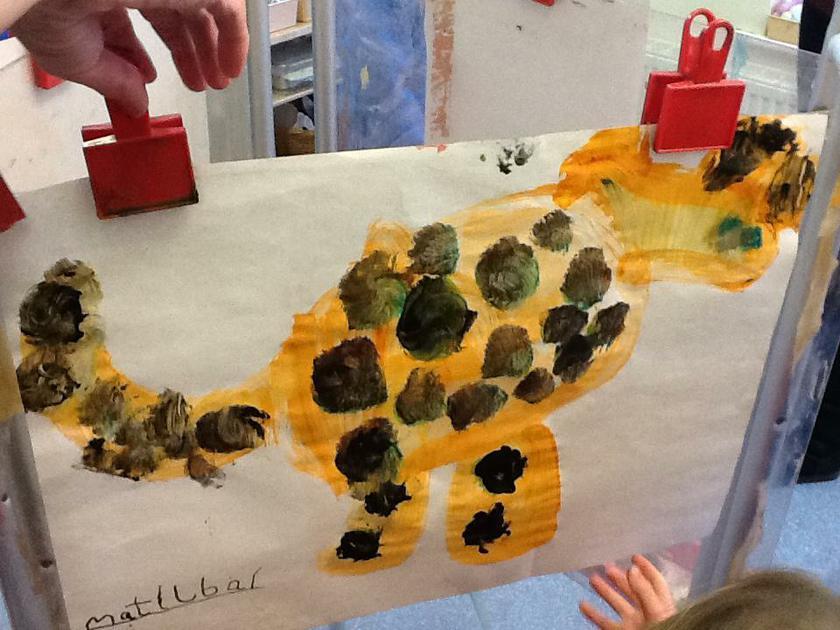 Matilda's leopard..How the leopard got his spots!