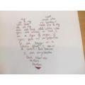 Reuben's heart poem