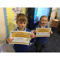 Well done to our star, Charles and our value Ivy. Well done!
