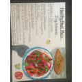 Aimee's menu 2