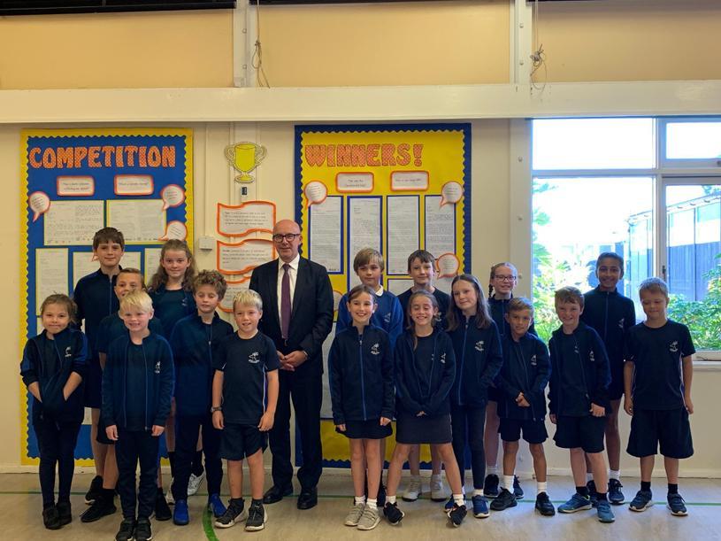Matt Western MP meets the School Council