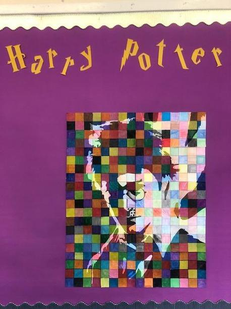 6 Willow's class portrait of Harry Potter