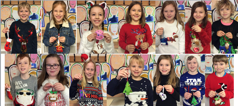 Elm worked hard to design their decorations