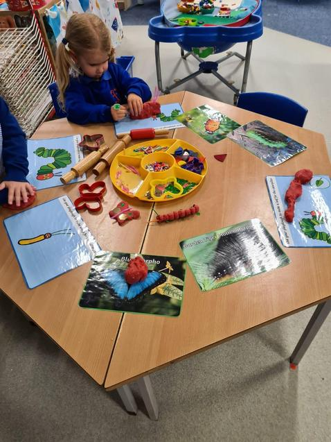 Learning through play!
