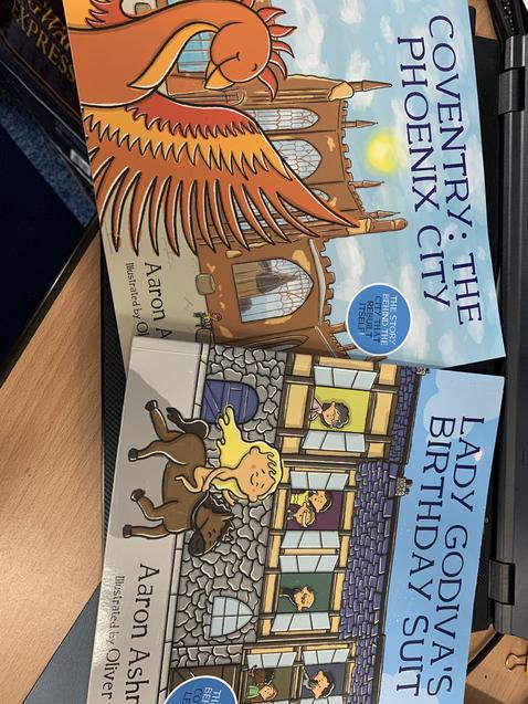 We read Coventry the Phoenix City and Lady Godiva's Birthday Suit