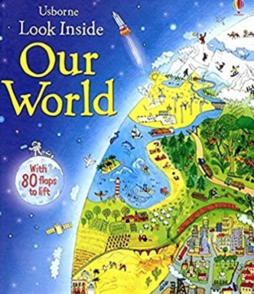 Take a trip around the world in this fascinating lift-the-flap book.