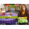 Join Mrs Kennedy in singing Old McDonald had a farm.