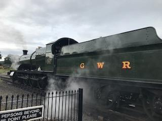We were evacuated on a Great Western steam train!
