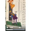 We have listened to The Tiger who came to tea on Seesaw.