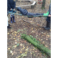 Year 6 challenge to make a stretcher