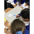 Working as a team on maths problems