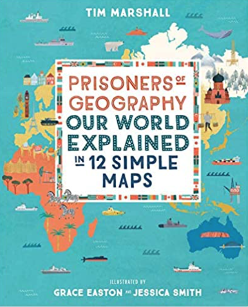 A fantastic book about how geography has shaped the history of our world!