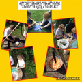 Cooking over a camp fire. Monday 14th June 2021