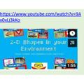 Watch a shape video.