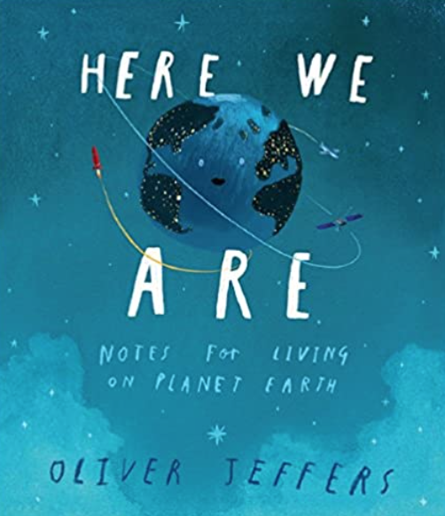 A beautiful book that explores what makes our planet and how we live on it.