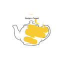 Michael has designed a yellow teapot for the tiger.