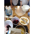 Ingredients needed to make our healthy cereal bars
