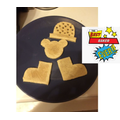 Carter has been making ,'Whatever Next!' biscuits.