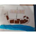 Art - Cubism - Collaging Viking Boats