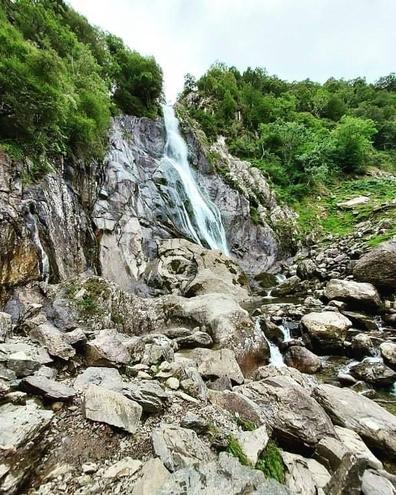 Beautiful waterfalls in Wales